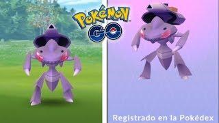 ¡CAPTURO y REGISTRO GENESECT en Pokémon GO! La investigación más costosa... [Keibron]