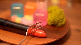 Lip cooking. stopmotion Animation. Miniature. ASMR.