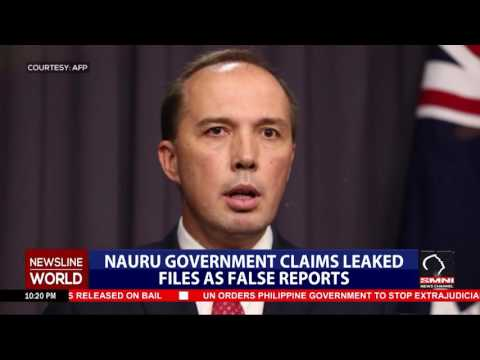 Nauru government claims leaked files as false reports