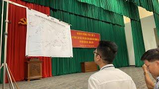 LIVE: Họp đoàn phổ biến thông tin từ Hải quân vùng 4, Cam Ranh