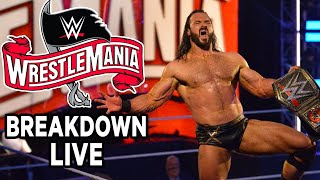WrestleMania 36 Breakdown & Analysis LIVE w/ Aftermath Crew