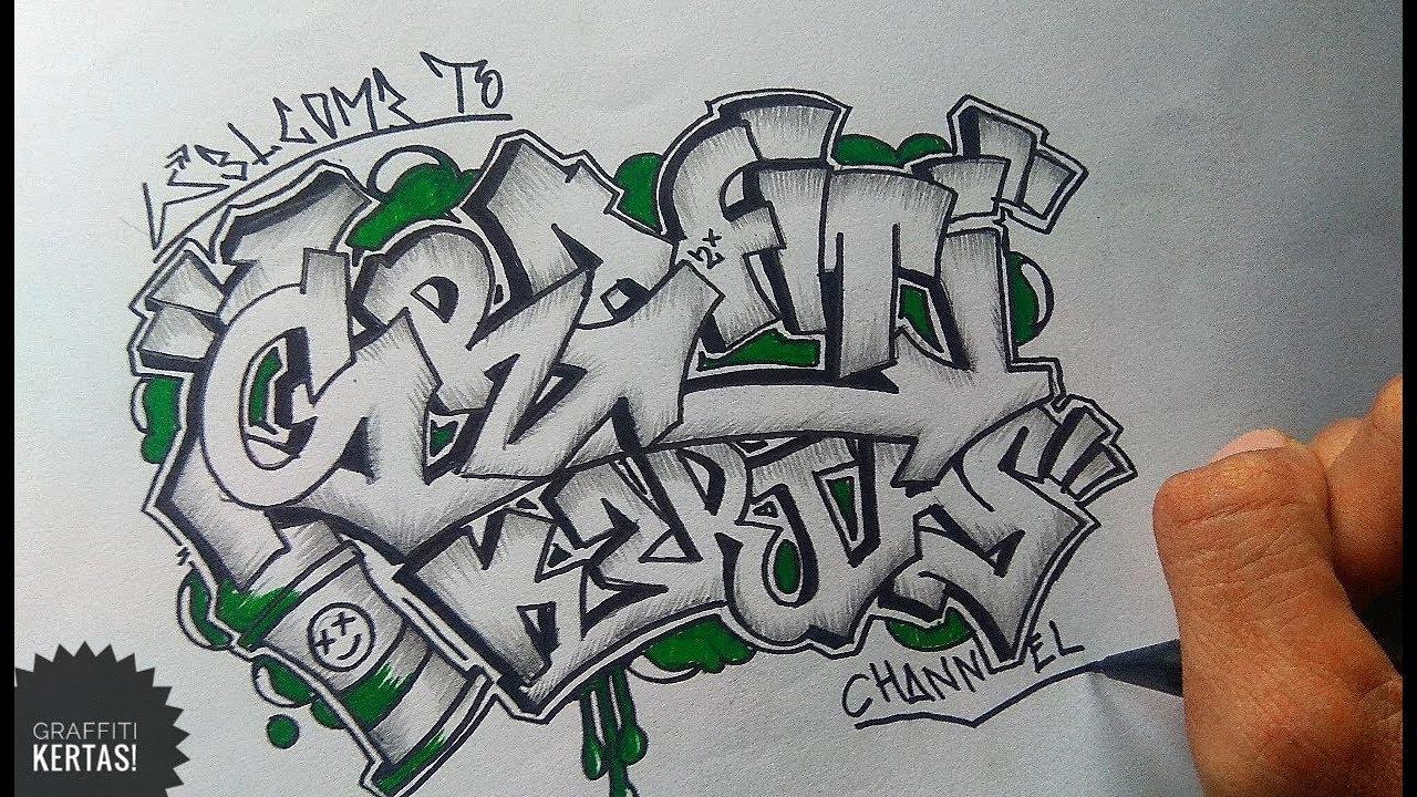 13+ Gambar Tulisan Grafiti Kertas - Gambar Tulisan