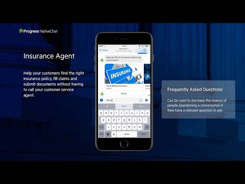 Insurance Agent Chatbot Demo with Progress NativeChat