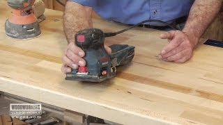 Which Electric Sander To Use?