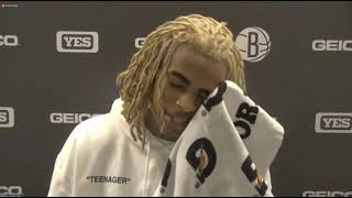 Nic Claxton Postgame - Nets beat the Spurs
