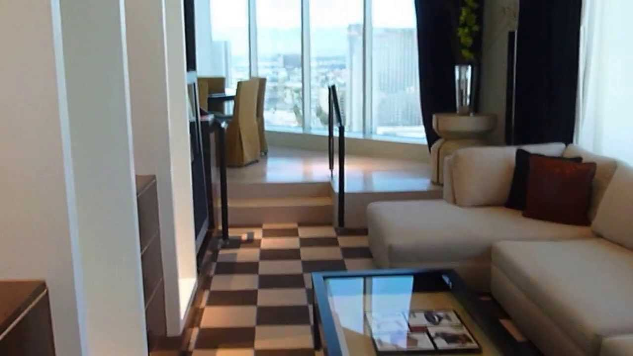mgm skyloft 3 bedroom walk through partial youtube
