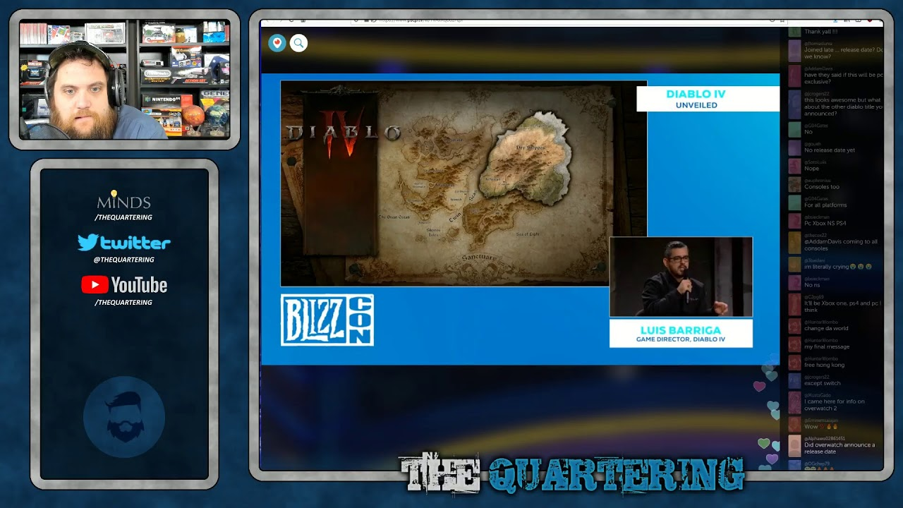 BlizzCon Opening Ceremonies, With Live Updates