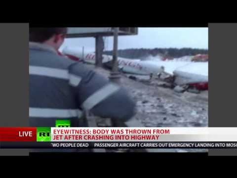 Russia plane crash: Tu-204 crashes into highway near Moscow's Vnukovo airport
