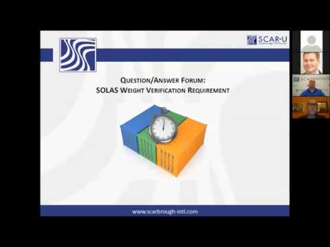 SOLAS VGM: What type of tolerance between the scale weight and actual weight is there?