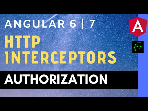 How To Intercept HTTP Requests With The HttpInterceptor - Angular 6 | 7 - CodeWithSrini