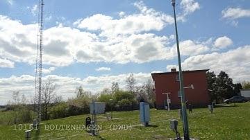 Wetterstation 10161 BOLTENHAGEN vom DWD