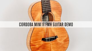 Acoustic Guitar Demo: The Cordoba Mini II FMH, a Good Thing in a Small Package