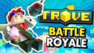 NEW VOXEL BATTLE ROYALE GAME IN TROVE (Trove Geode Update Funny Gameplay)