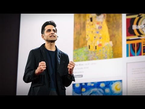 Every piece of art you've ever wanted to see -- up close and searchable | Amit Sood