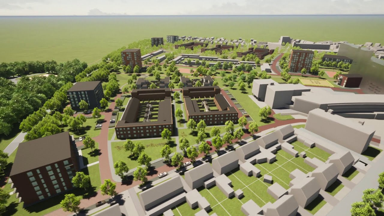 Rolduckerveld in the future: a new plan for Gemeente Kerkrade