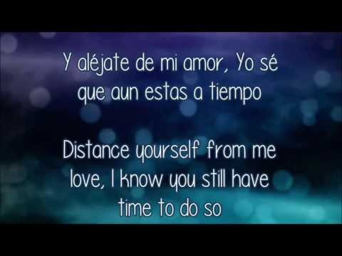 Camila Aléjate de mí (English Lyrics)