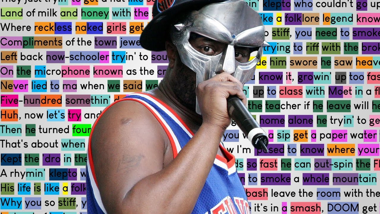 MF DOOM - Curls | Rhymes Highlighted