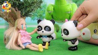 凱莉受傷了,奇奇妙妙快來救救她!| 寶寶玩具 | 兒童玩具 | 玩具巴士