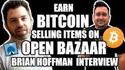Sell Items & earn BITCOIN with Open Bazaar: Brain Hoffman Co-Founder Interview