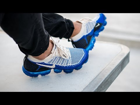 info for d6ee7 d94a6 Onfeet: Nike Air Vapormax Flyknit 2 0 Shocking Blue | Grailify