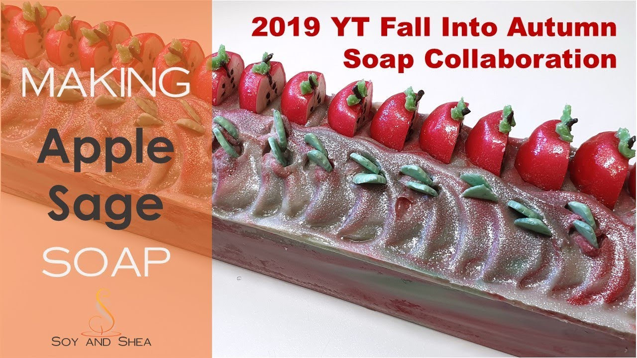 Apple Sage - 2019 YT Fall into Autumn Soap collab - Where did the footage  go!