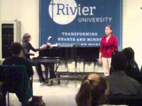 Voices of Rivier University Fall 2012 Entire Concert