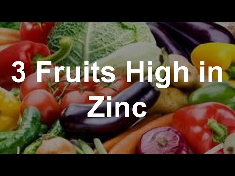 Vegetables Contain Zinc 3 fruits high in zinc youtube workwithnaturefo
