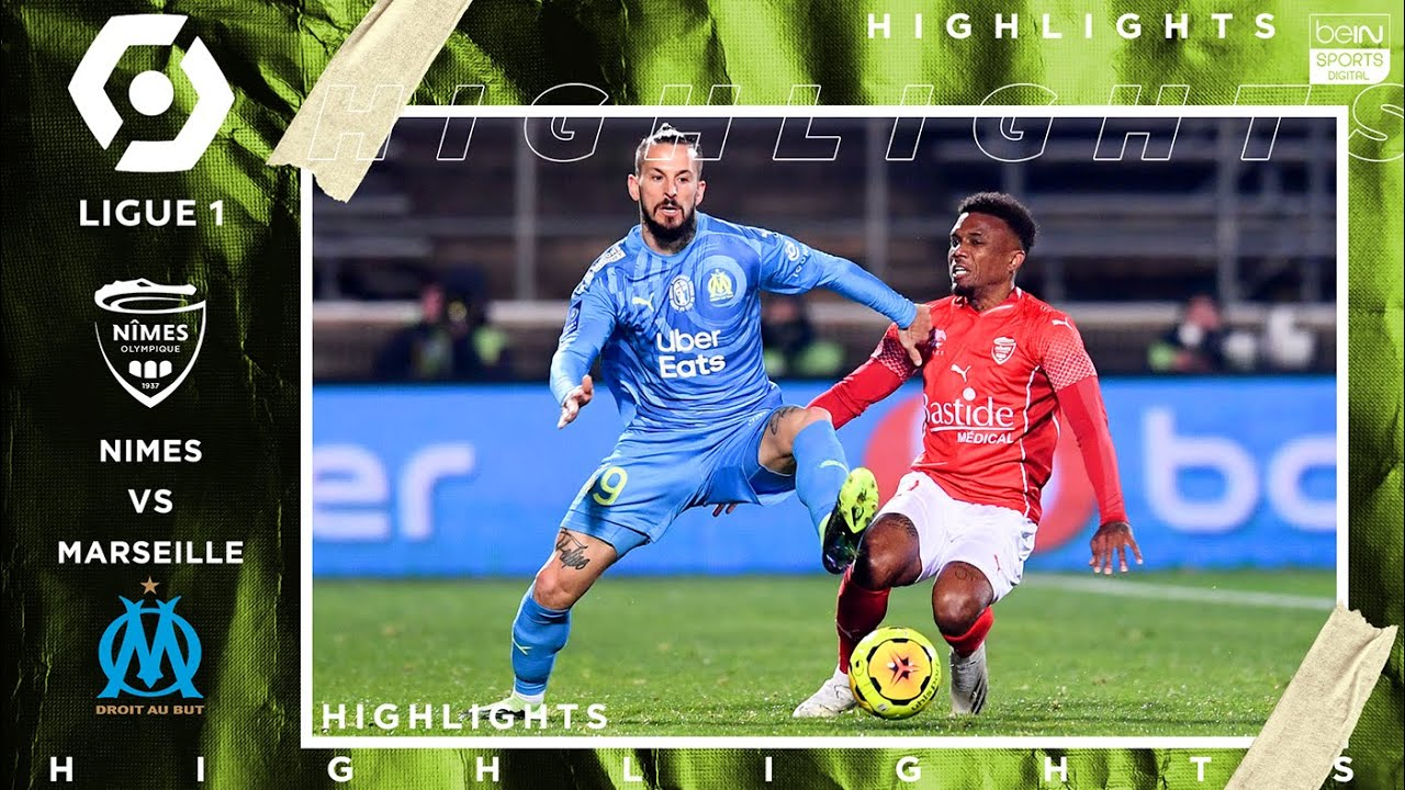 Nimes 0 2 Marseille Highlights Goals 12 4 2020 Youtube