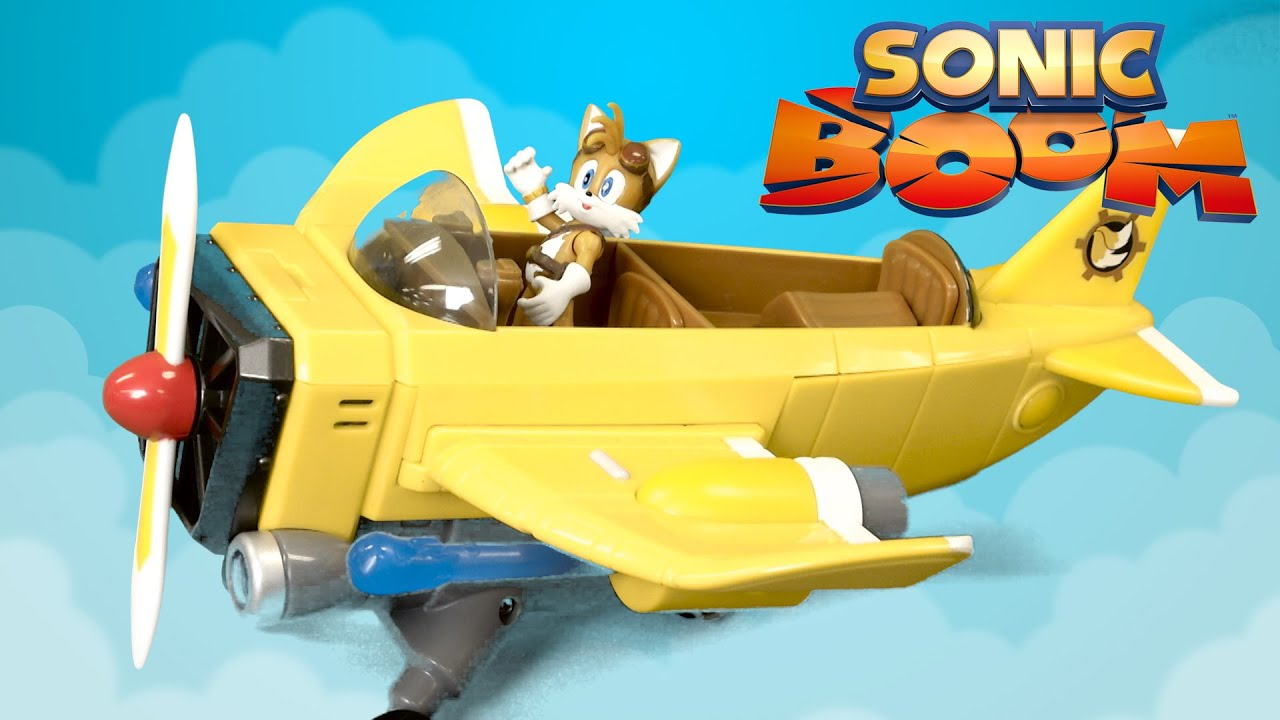 Sonic Boom Tails' Plane from TOMY - YouTube