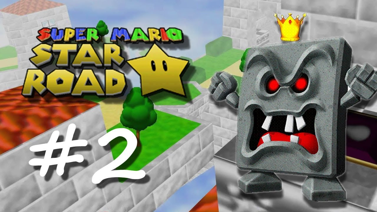 Nintendo 64 super mario star road emu
