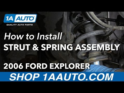 How to Replace Rear Strut Spring Assembly 06-10 Ford Explorer