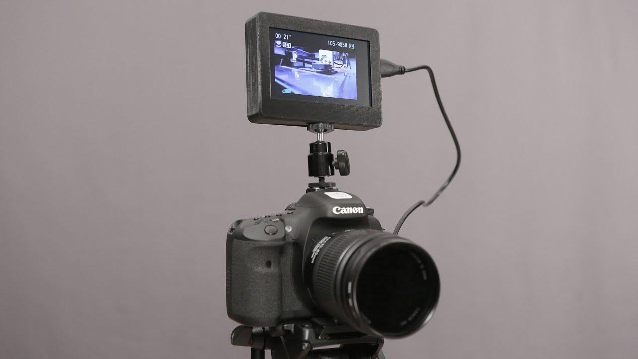 DIY Camera Monitor - YouTube