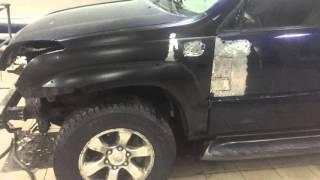 Сложный кузовной ремонт Toyota