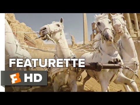 Ben-Hur Featurette - Chariot Race (2016) - Jack Huston, Nazanin Boniadi Movie HD