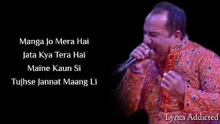 Ajj Din Chadheya Full Song with Lyrics| Rahat Fateh Ali Khan| Saif Ali Khan| Deepika Padukone