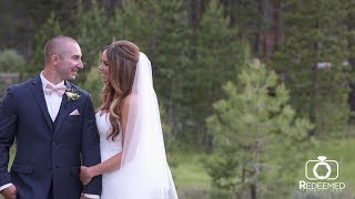 She's a cop, he's a firefighter Olivia and Dan's Wedding Film at The Tahoe Mountain Club, Truckee CA