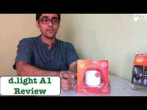 d.light A1 Solar Powered light