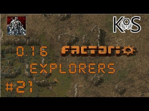 0.16 Factorio Explorers EP21: Construction Bots! - Multiplayer Gameplay, Lets Play