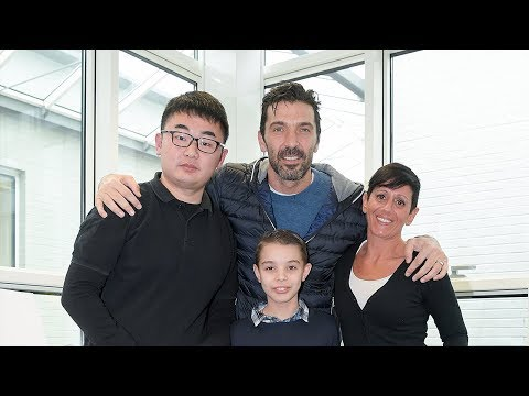 Gianluigi Buffon is treated to birthday gifts by Juventus Members!