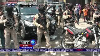 Polisi Terpaksa Lepas Tembakan Peringatan dan Gas Air Mata Akibat Massa yang Anarkis   NET24