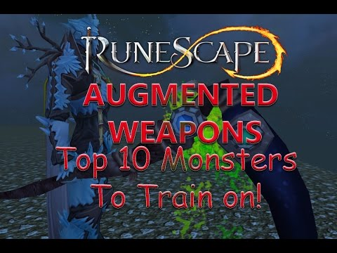 Runescape - Invention Top 10 Augmented Weapon XP Training Guide!