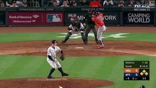 Yuli Gurriel 3-Run Double vs Yankees | Astros vs Yankees Game 4 ALCS