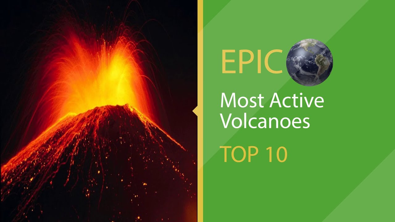 Top 10 Most Active Volcanoes of World Epic Earth 2015 HD ...