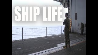 Ship Life   Living in Close Quarters