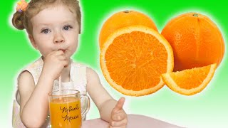 Fruits Song |Nursery Rhymes by Sasha Kids Channel.