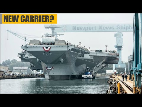 The US Navy is Spending Another $7.5 Million Aircraft Carrier