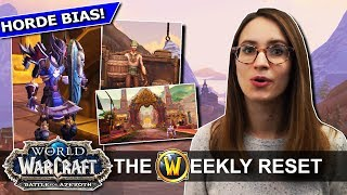 Why The New Horde & Alliance Capitals Are So Good, Plus Upright Forsaken?! Battle For Azeroth News