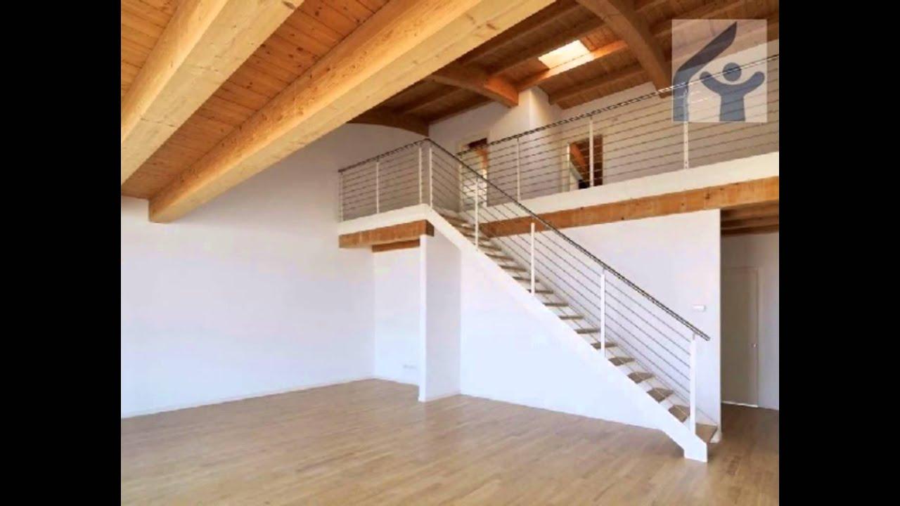 SAN DOMENICO Attico con terrazzo e tetto a botte in legno - YouTube
