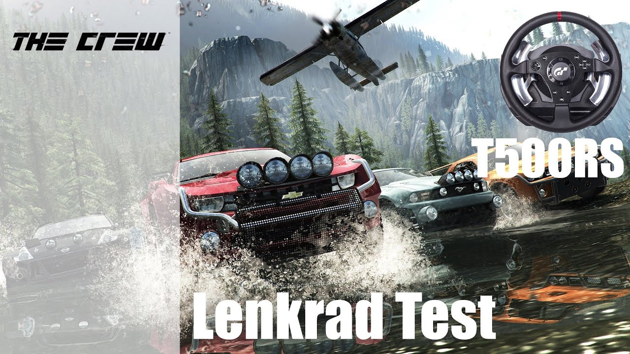 the crew ps4 lenkrad test t500rs german hd. Black Bedroom Furniture Sets. Home Design Ideas