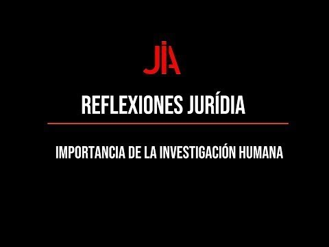 JURÍDIA reflection on the importance of human research